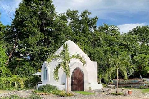 Casas de MEGADOBE, Casa ecológica a base de tierra