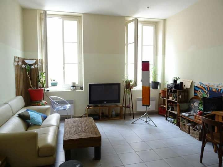 Appartement calme hyper centre