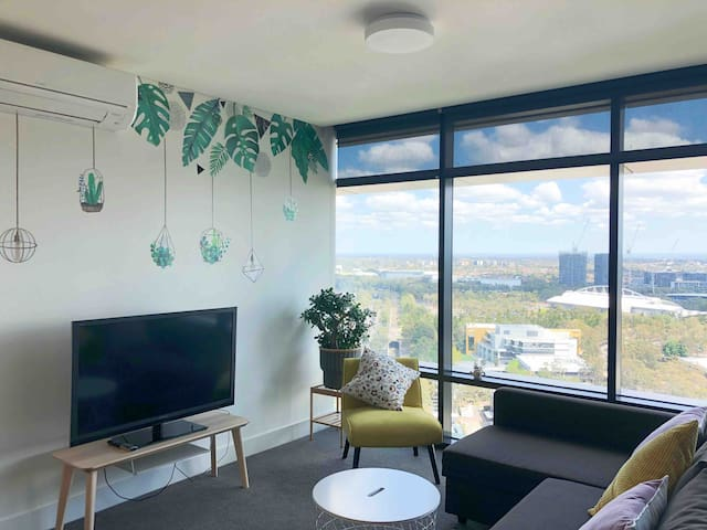 2bedrooms in Sydney Olympic Park with sunset view