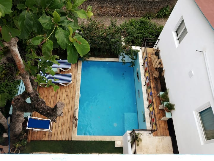 Charming Studio Sea Side with pool in Cabarete