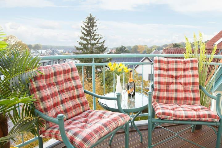 Moderne Ferienwohnung Tine auf Usedom