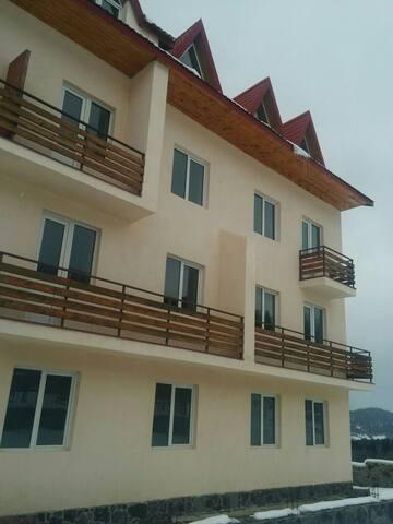 Уютные апартменты с 2 спальнями для отдыха . - Bakuriani - Wohnung
