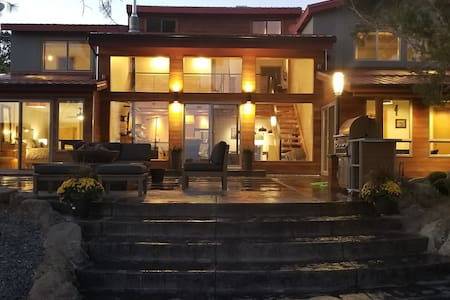 Twisted R Lodge - entire first floor; 2 BR, 2B,