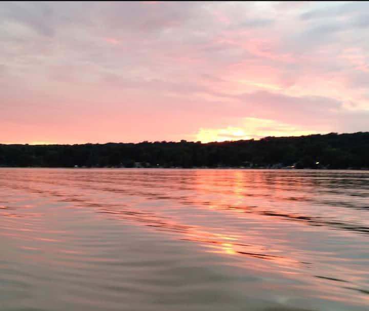"""A Bit of Heaven"" by the Lake"