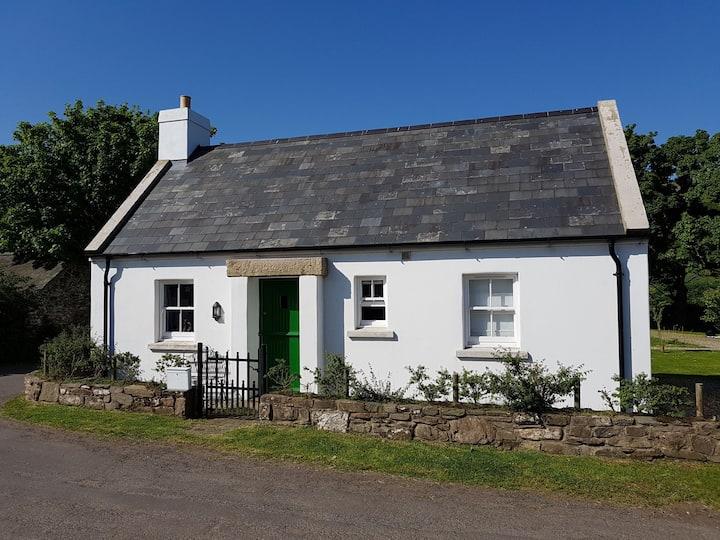 Traditional Irish cottage, Torr Head, Ballycastle