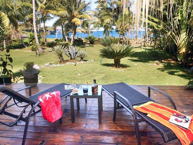 Villa Ibiscus - Ocean Front
