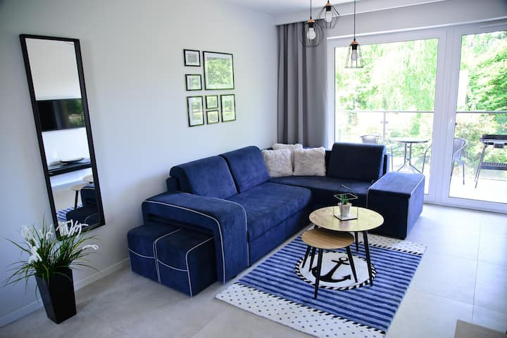 Słoneczne Tarasy II - Apartament Kapitański