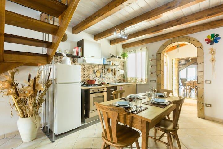 Mediterranean beach house, Mandriola, Sardinia