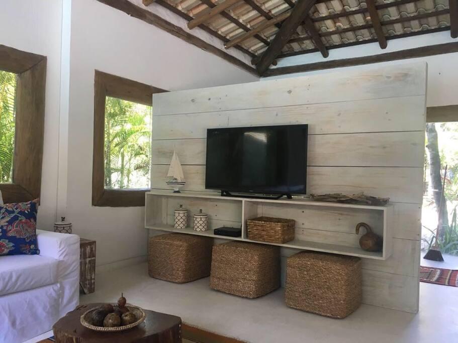 Painel de TV sala de estar