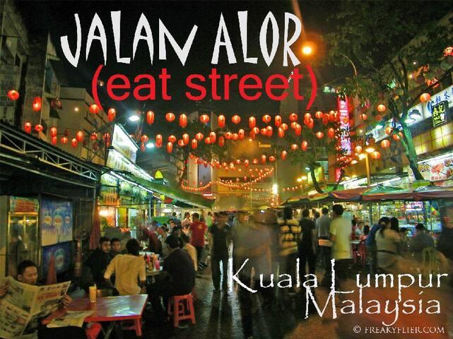 Your room 5mn walk from Changkat (Near MRT & KLCC) - Kuala Lumpur - Byt
