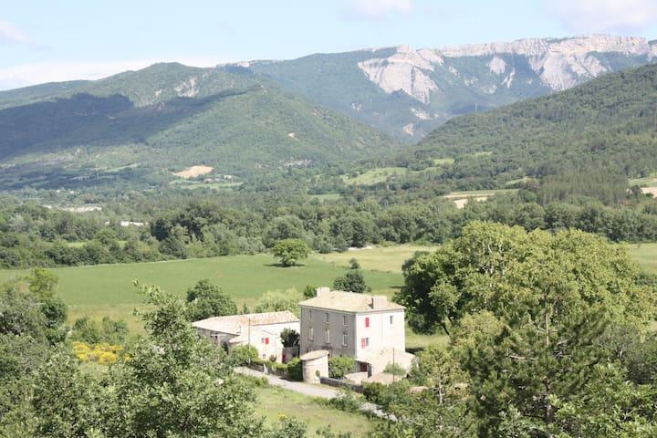 Farm within a bastide in Haute Provence