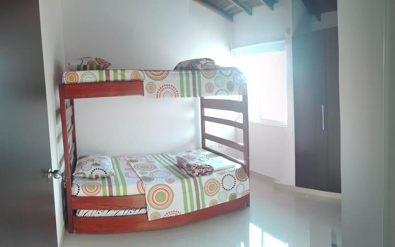 Apartamento Duplex centro San Gil - San Gil - Flat