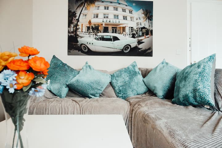 ♥ Quiet, cosy Apartment PARKING WiFi NETFLIX ♥