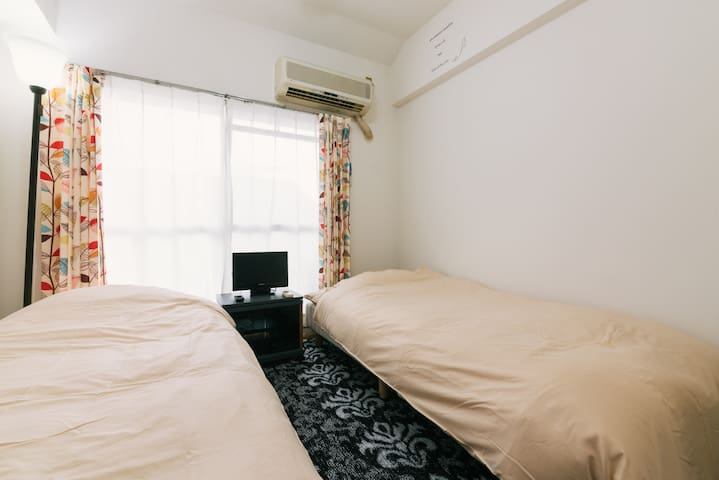 ☆Close to Saga Airport - Clean, Cozy & Private☆ - Saga - Appartement