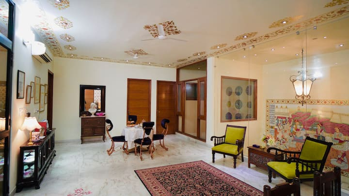 Boutique home stay room