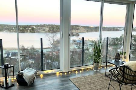 Spacious villa sea view Stockholm