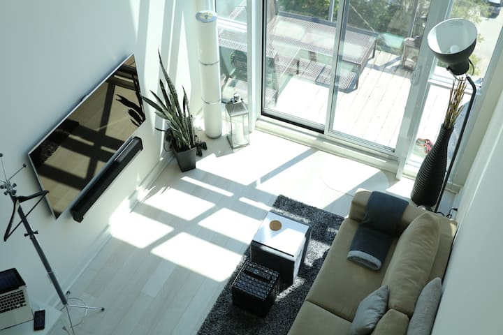 2-Story Luxury Loft in Toronto, Liberty Village