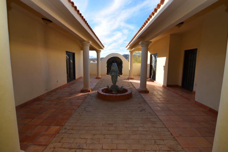 el dorado Ranch casa Pescados - Main entrance