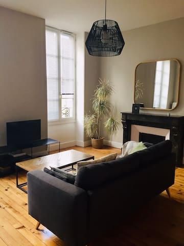 Appartement de charme centre ville de Pau
