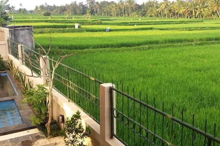 Rice paddies paradise 5 minutes from Ubud - Gianyar