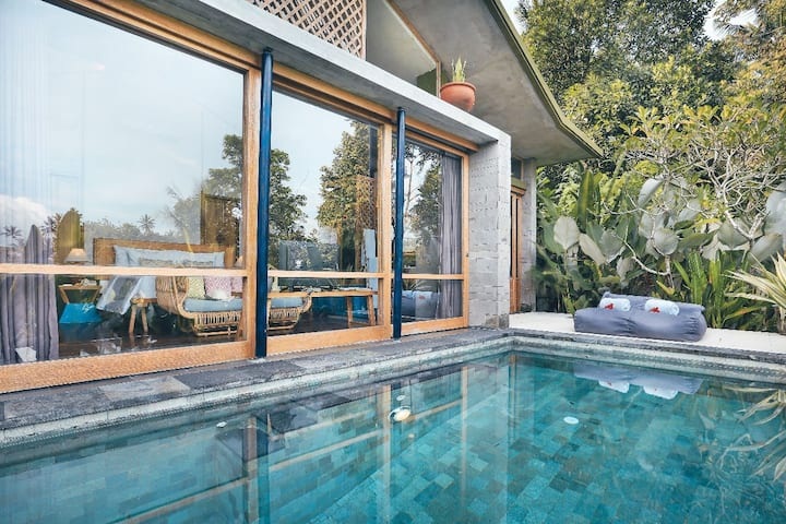 Terrace Villa with Private pool  @Campuhan Ubud2