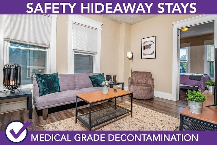 Safety Hideaway - Medical Grade Clean Home 45