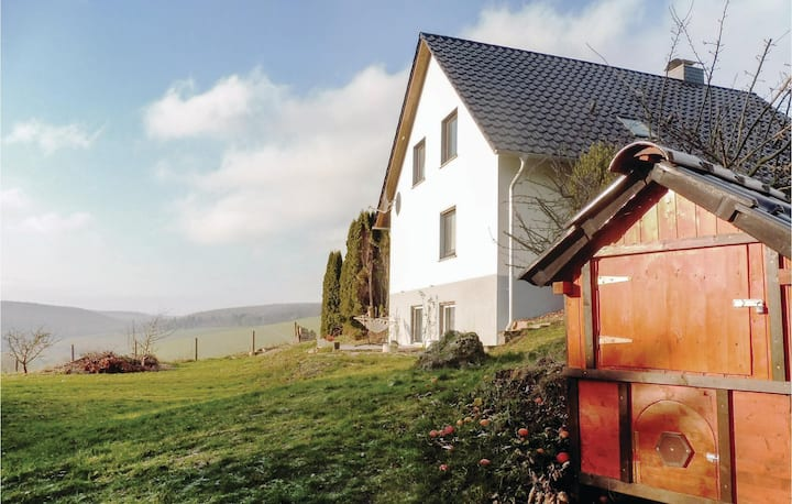 Awesome home in Hehlen with WiFi and 1 Bedrooms