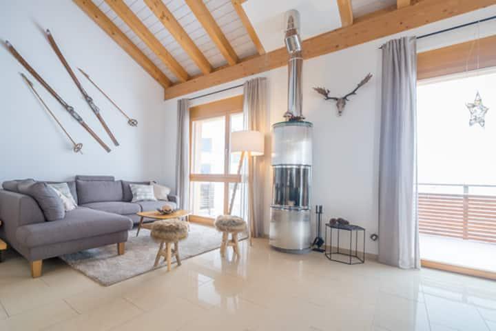 Moderne Dachwohnung in Lenzerheide / Churwalden