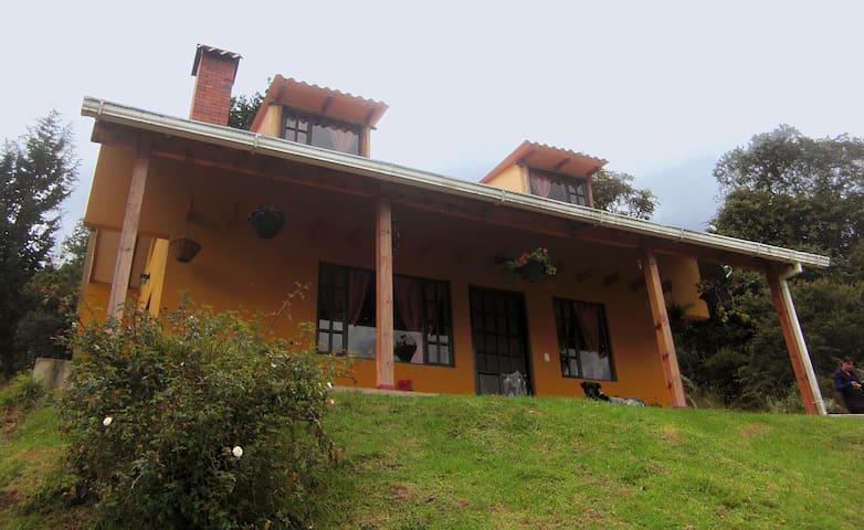 Apacible cabaña cerca a Tenjo, Subachoque o Tabio