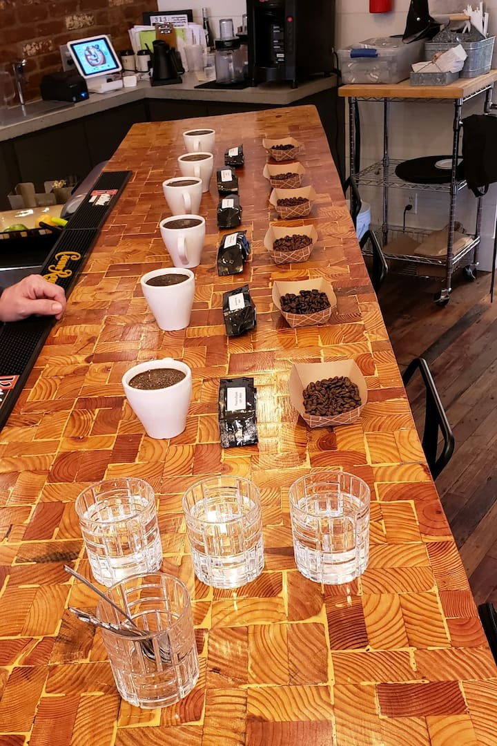 Coffee Cupping Tour
