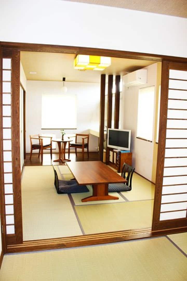 Waraku‐Tei Standard nagomi  Japanese room  2person