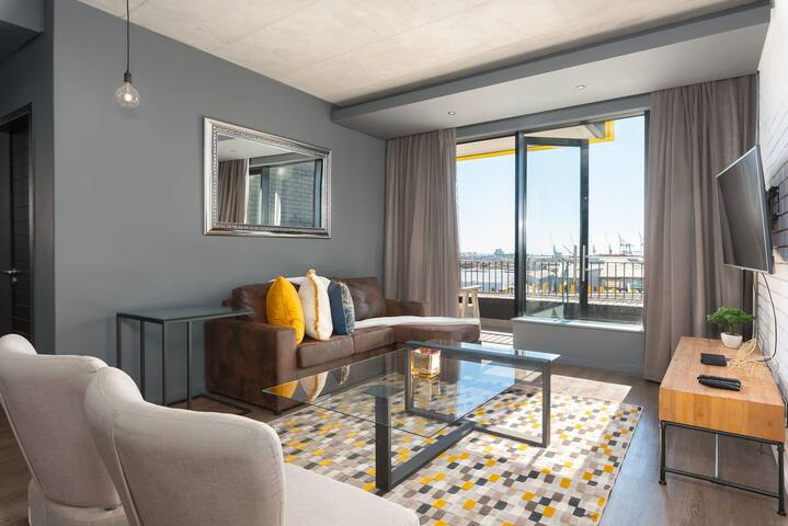 Bohemia-meets-urban-living, private balcony & views