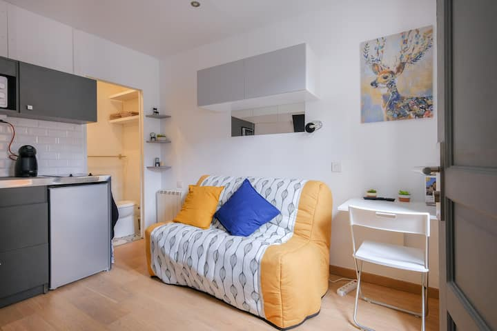 Charming studio downtown ideal INSEAD & Stay