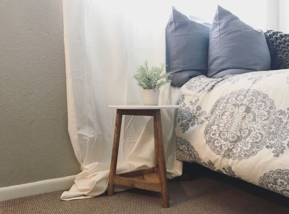 All new Pottery Barn bedding