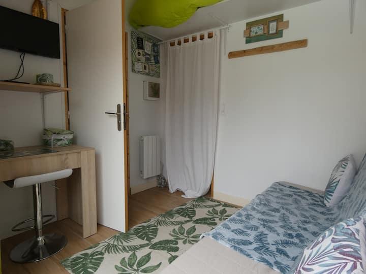 chambre privée équipée avec accès indépendant