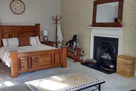 Large room in spacious West End apt - Edimburgo - Bed & Breakfast