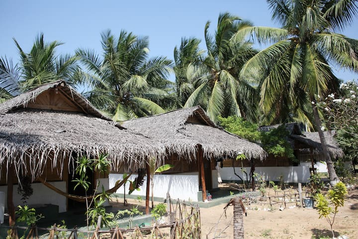 Sun Wind Beach Kalpitiya  Double Bed Cabana - No 1