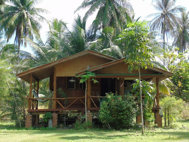Wood Thai House with sea view - Ko Pha Ngan - Huis