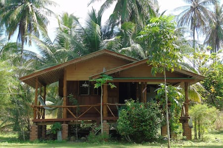 Wood Thai House with sea view - Ház