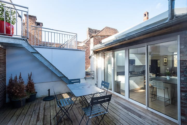 AU PRINTEMPS DE JADE - 80m² with terrace