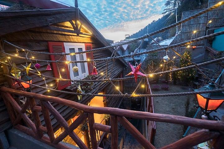A Pahari Cabin . Meena Bagh Shimla