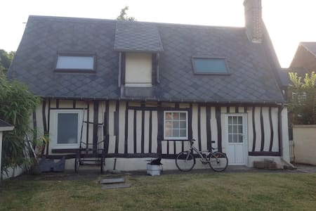 Maison normande avec jardin et BBQ - La Chapelle-sur-Dun