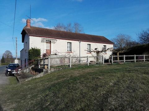 Maison de vacances a la campagne