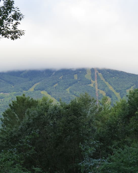 View of Okemo from the deck