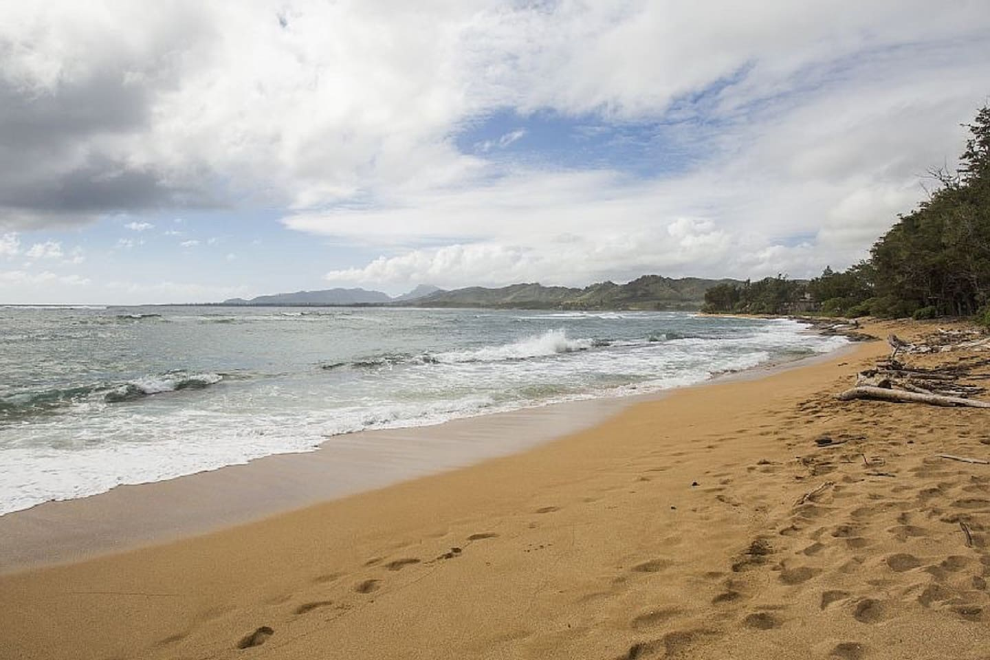 Beautiful quiet beach a few short yards in front of condo.