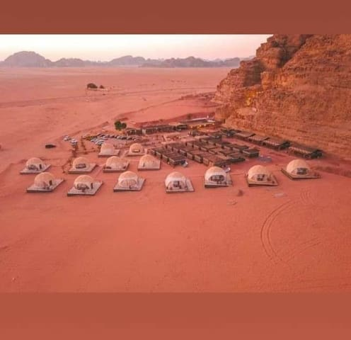Welcome to Wadi Rum in the Hasan Al-Zawaida