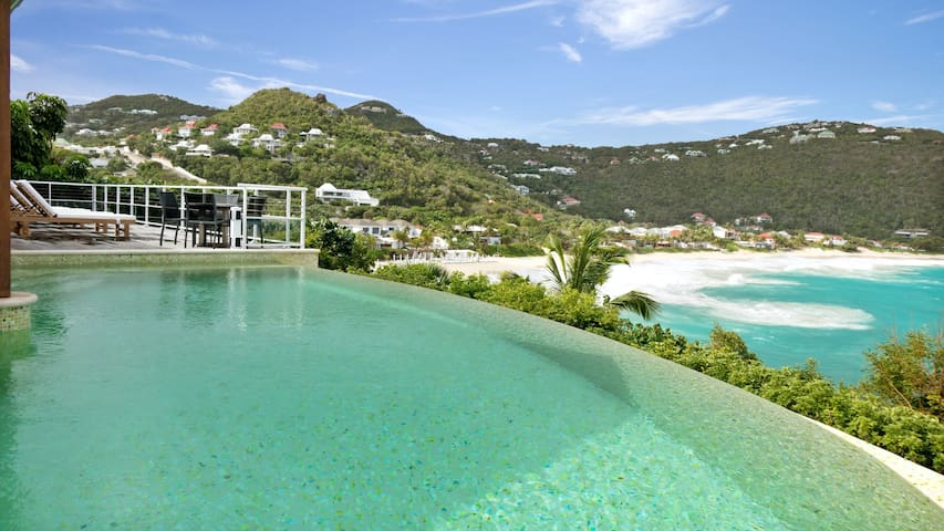 Villa Eimeo amazing view on the Caribbean ocean and the neighboring islands - Gustavia - Villa