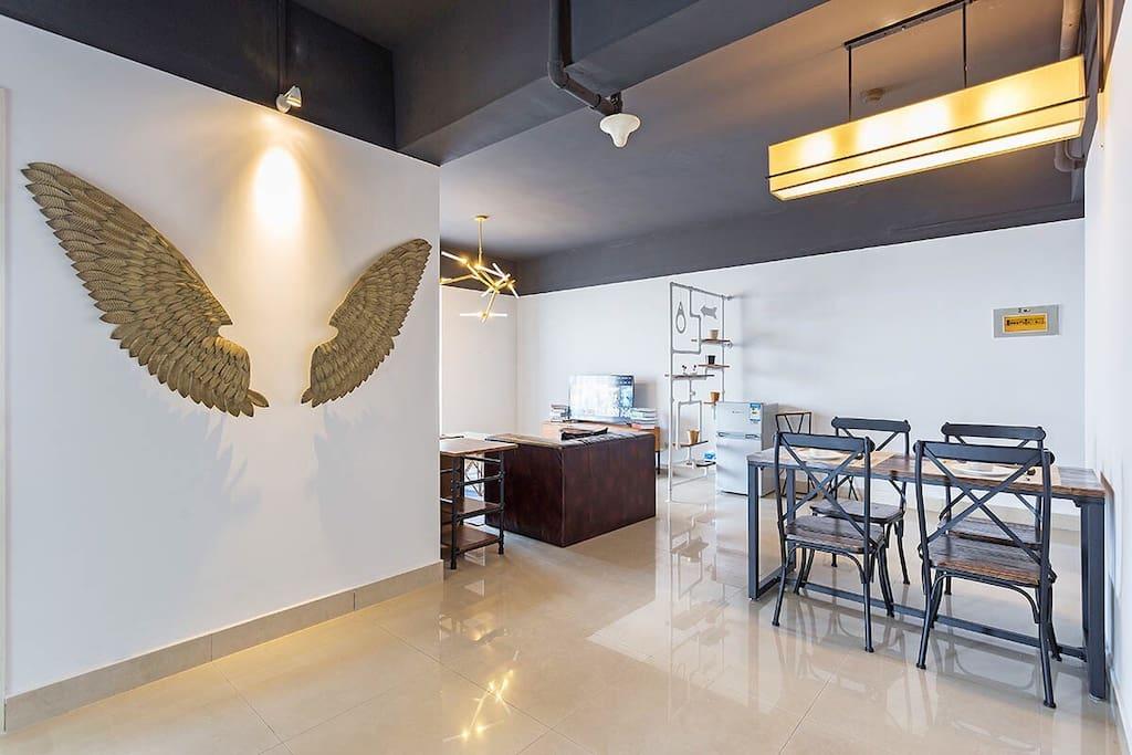 象征自由的翅膀
