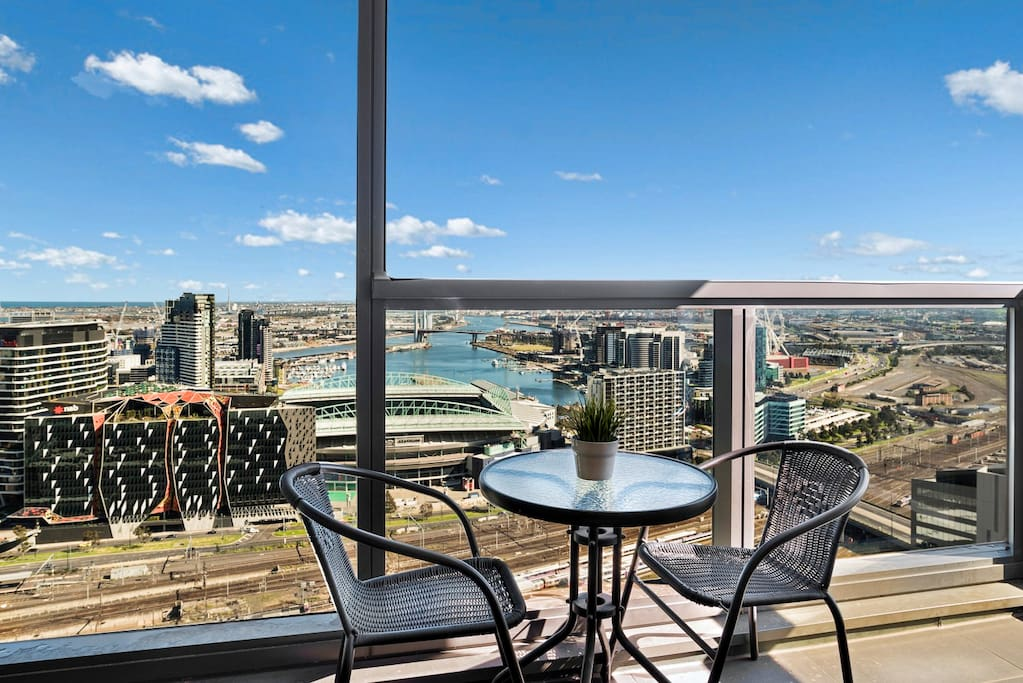 Your own private balcony - Stunning View!