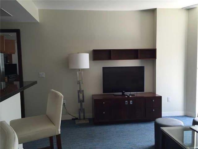 Living room  Large TV